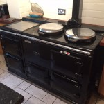 AGA 4 oven oil fired